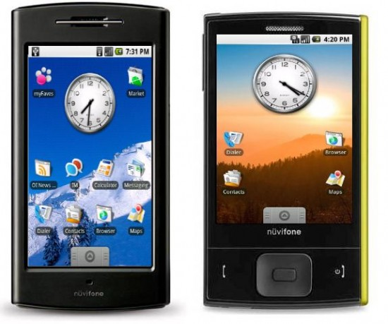 Garmin Asus Android Announced Again 2010