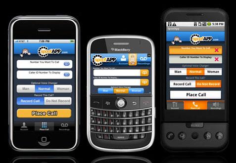 spoofapp-phones