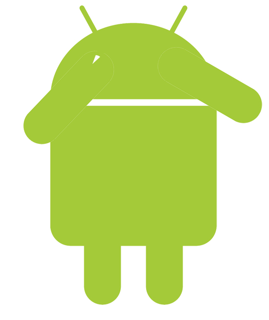 android-hiding