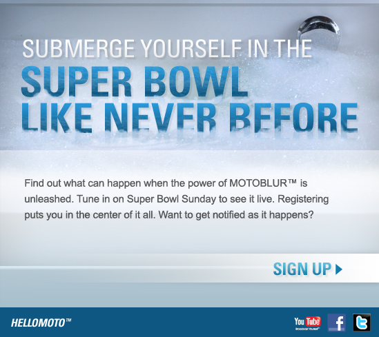 Motorola SuperBowl Ad: The Plot Thickens