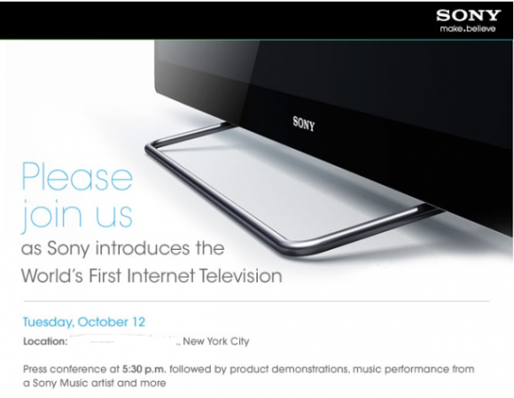 Sony Showing Off Their Google TV-enabled Television ...