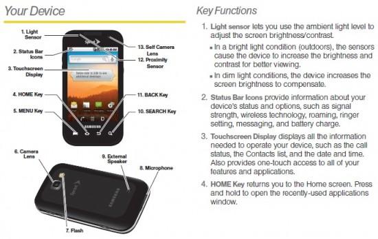 samsung transform user guide intercepted at sprint com rh phandroid com telephone user guide telephone user guide