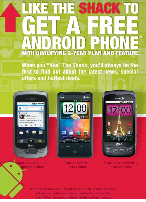 radio shack free android