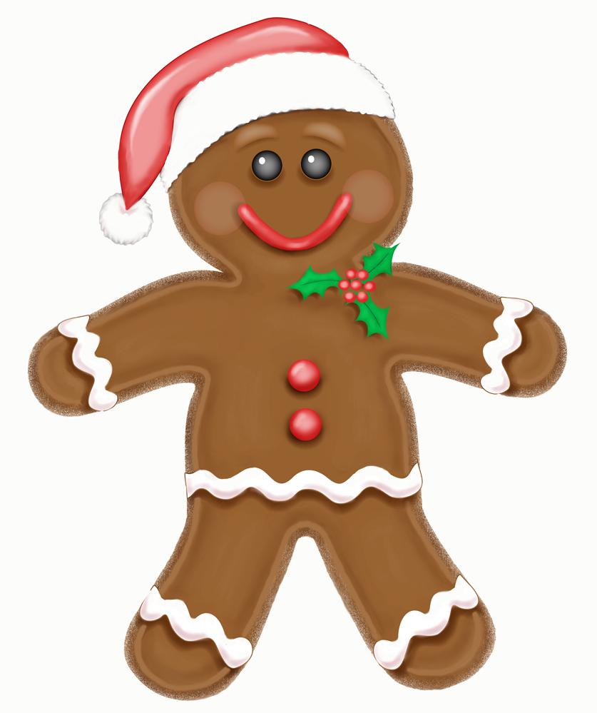 Gingerbread Man Cookies Recipe — Dishmaps