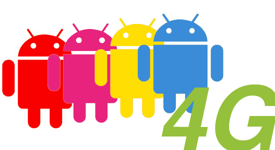 Which 4g android phone is best 4g wars with att and verizon all set to unleash their first 4g handsets with two htc devices the inspire 4g and thunderbolt respectively the four major us sciox Image collections