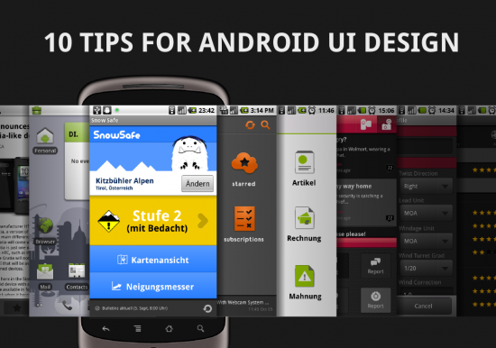Android Tablet Ui Design Patterns