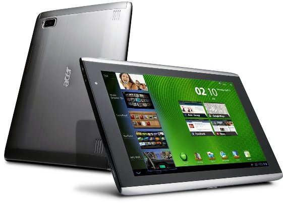 up ing acer iconia tab android 4 0 updates leak a100 a500