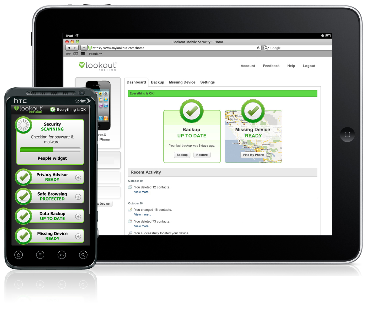 iphone virus scan lookout mobile security heads to tablets 12441