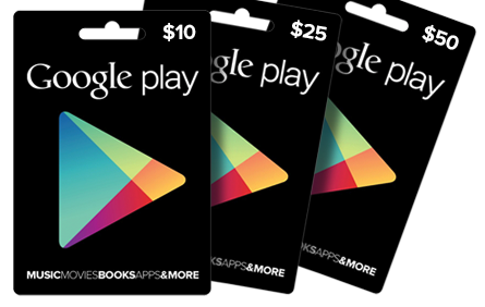 Image result for Google play gift card