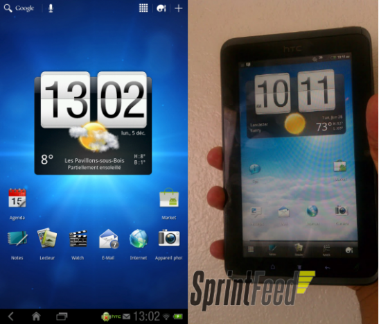 Official: HTC EVO View 4G Honeycomb Update Rolling Out