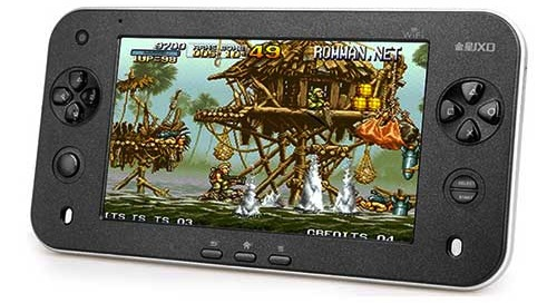 Jxd s7100 android gaming tablet handset boasts galaxy s ii specs for 140 - Android console application ...