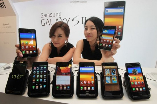 Samsung Galaxy S II's In Europe Officially Receiving ...