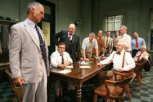 twelve angry men fair trial Get everything you need to know about justice in twelve angry men analysis   as a play portraying the deliberations of a jury in a murder trial, twelve angry  men is naturally concerned with the idea of justice  he got a fair trial, didn't he.