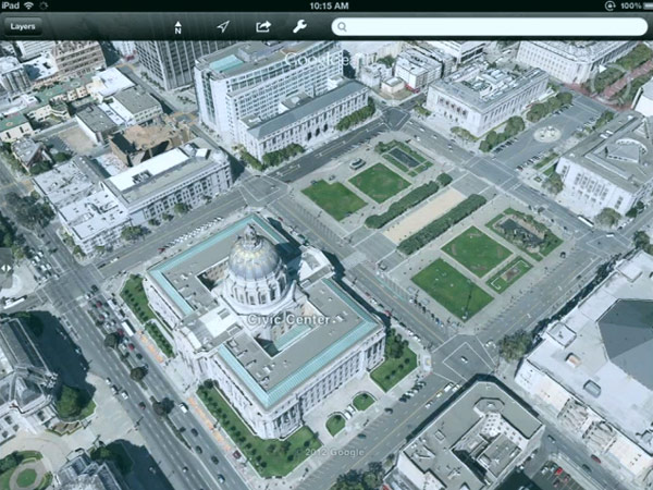Google Earth To Get Highlydetailed D Maps - Google earth online map 3d