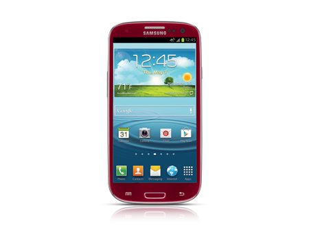 Came Close to the Red Samsung Galaxy S III