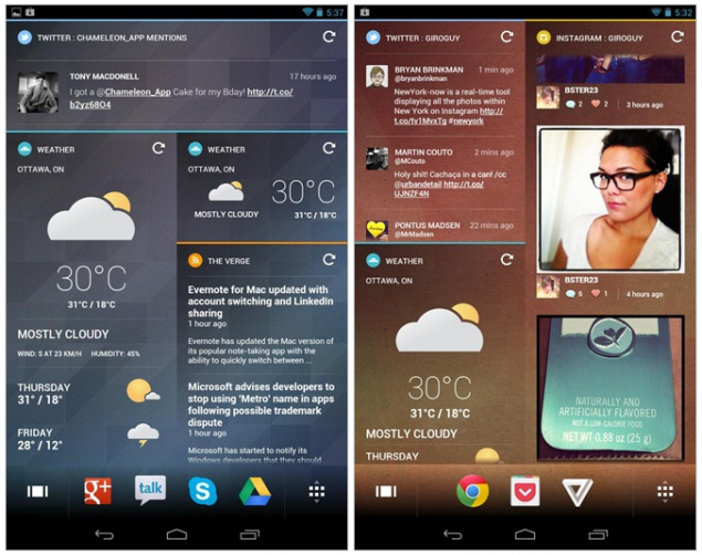 Chameleon Launcher Beta Now Available In The Play Store ...