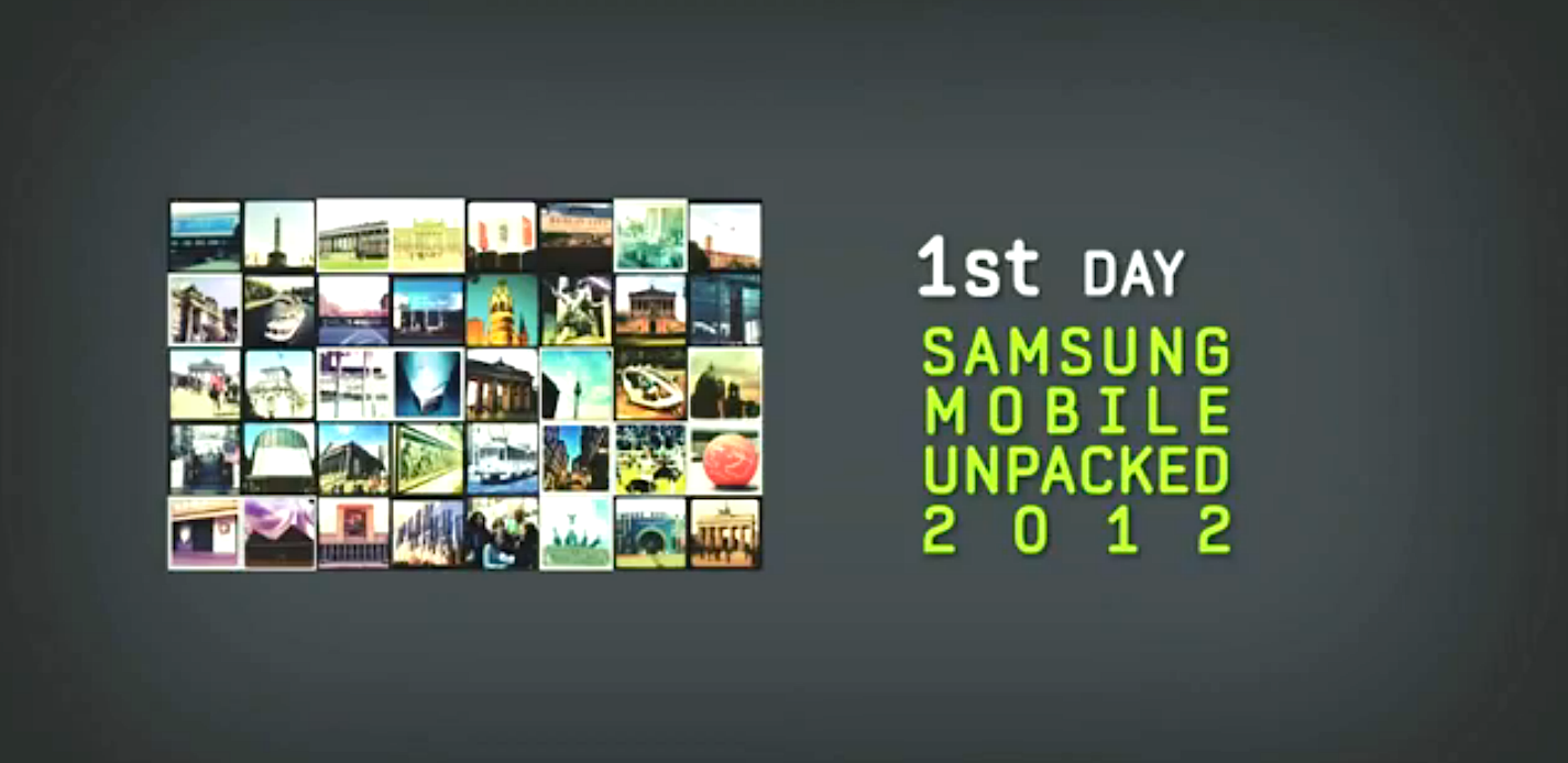 Samsung's Entire IFA 2012 Unpacked Event Is Now Available ...