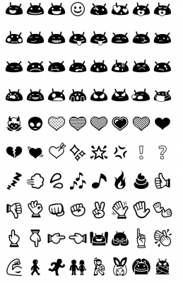 Tips Tricks Heres A Quick List Of A Few Jelly Bean Emojis together with How To Use Emojis On Your Android Device also 6437590715 moreover 1262644 Ipad Mini Pixelmator Template Made With Vector Shapes additionally Android 6 0 2. on iphone keyboard app