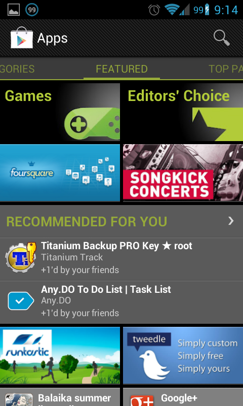 Get Recommendations Personalized to The Application Google Play