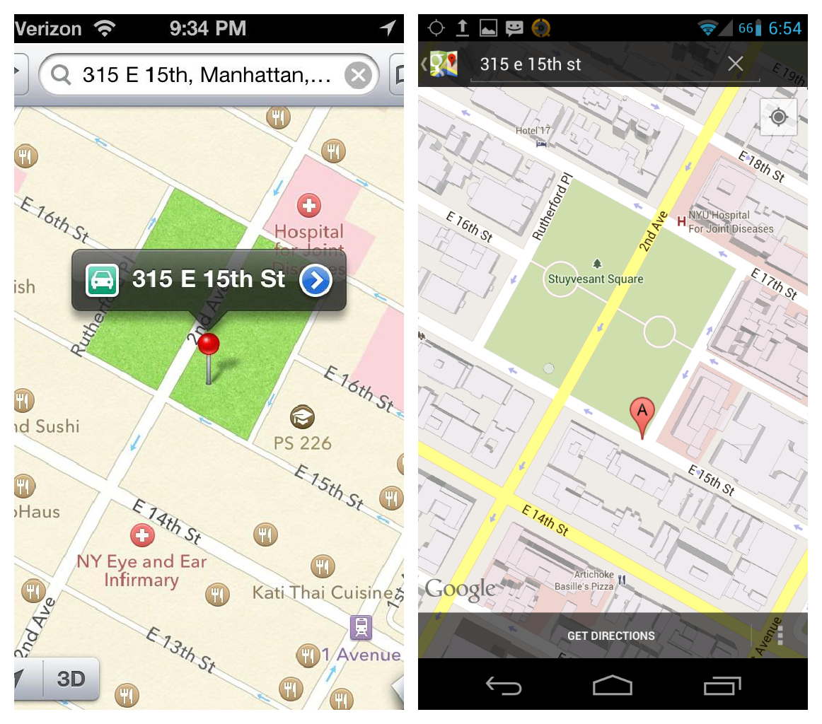 Tim Cook Apologizes For Apple Maps On Company Website Suggests - Is google maps app free
