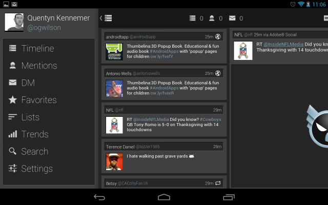 falcon pro for twitter beta