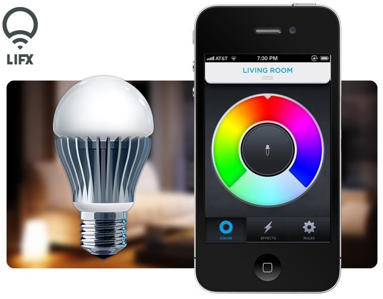 Lifx Android Powered Lightbulb Raises 1 3 Million Sells