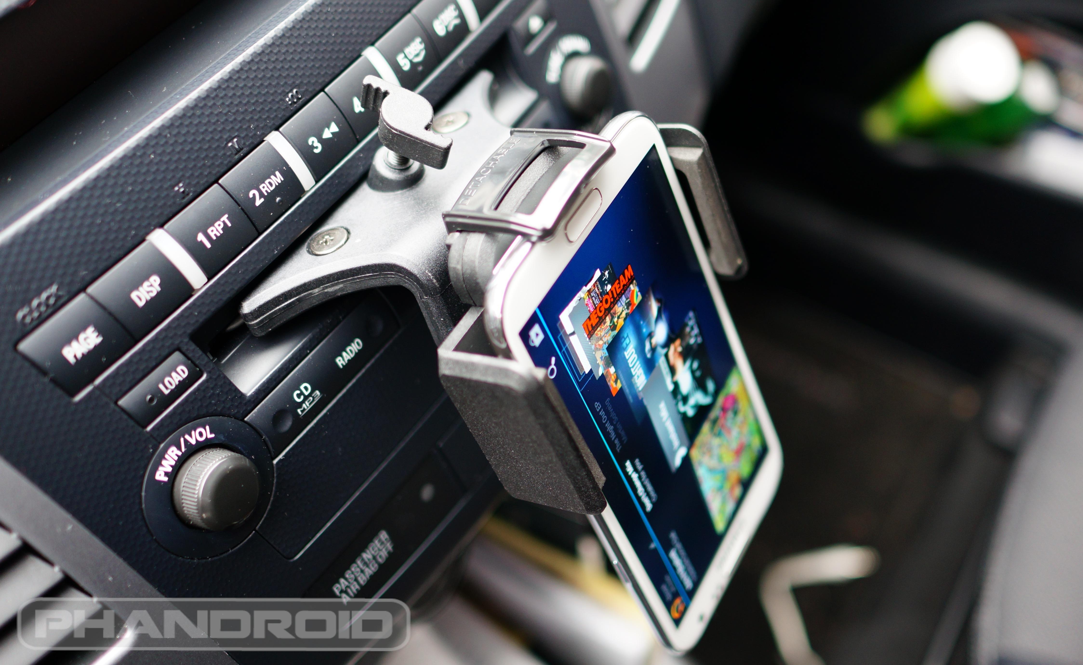 Universal car cd slot mount holder for cell phone 14