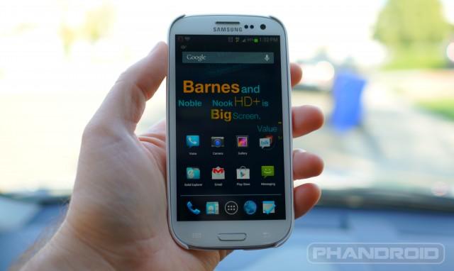 Samsung Galaxy S3 random wm