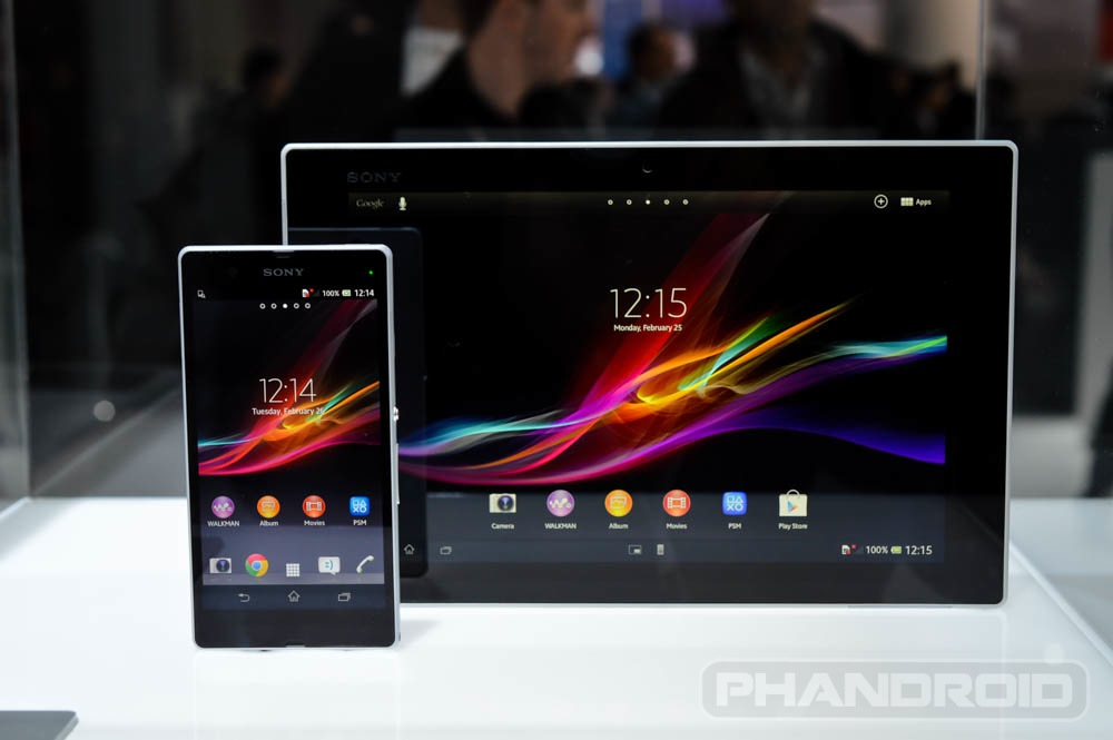 Hands On Sony Xperia Tablet Z Video