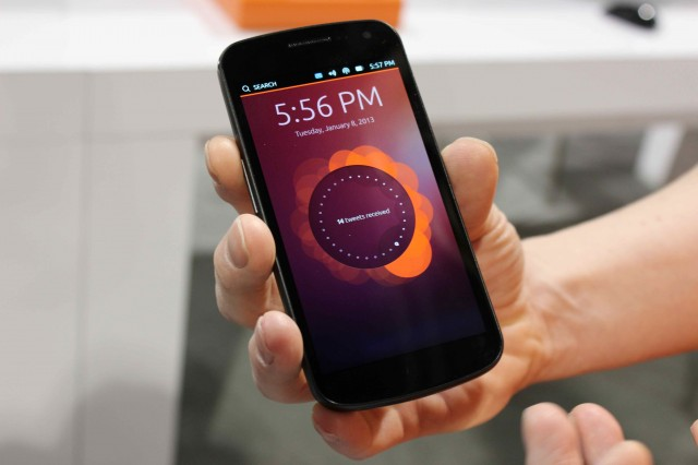 Nexus 4 with Ubuntu Touch by UBports