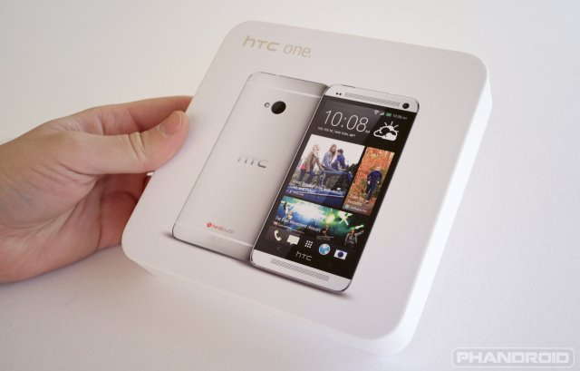 HTC One Developer Edition Unboxing