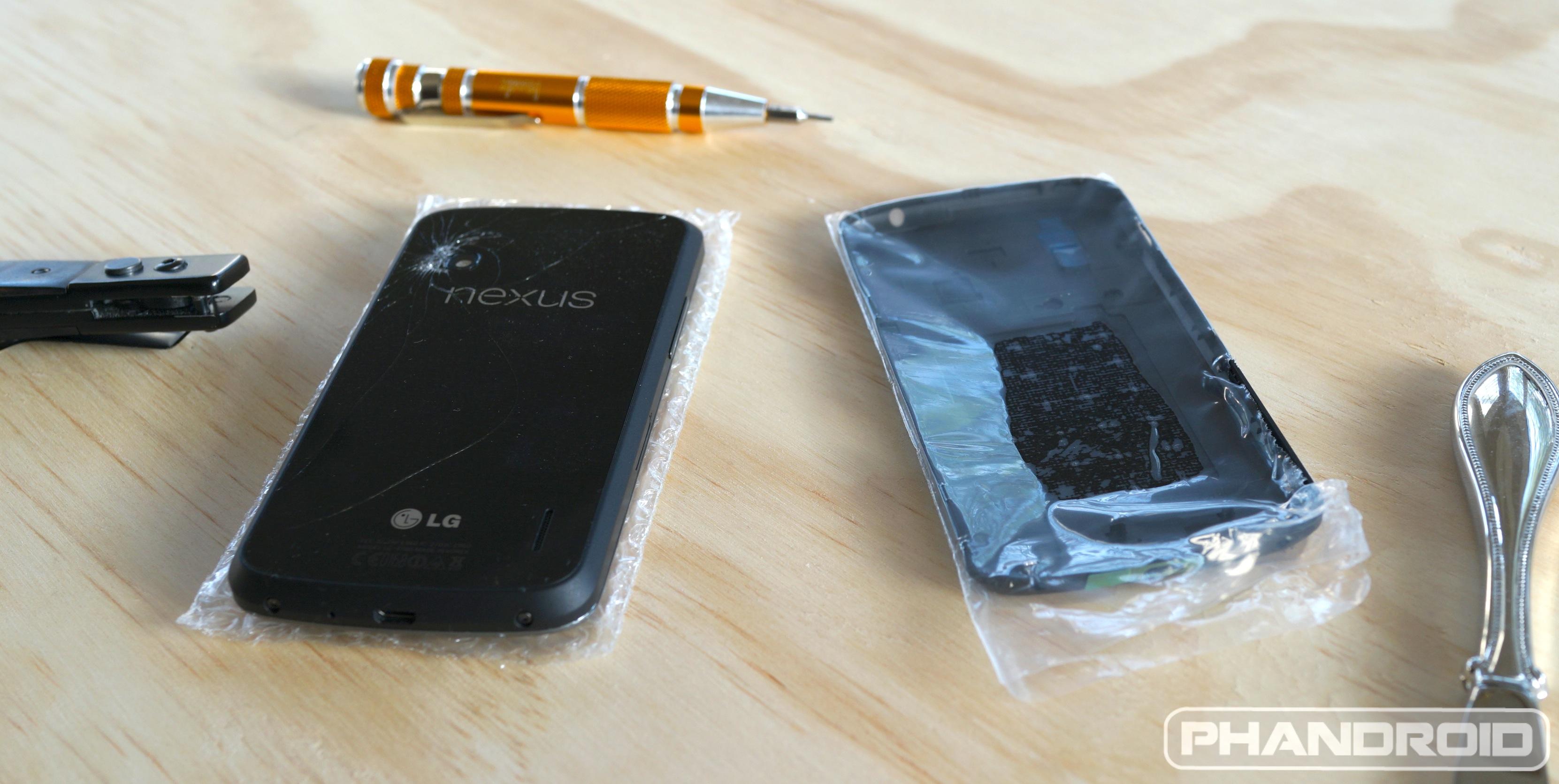 Troca de tela celular lg nexus 4, e977 tutorial completo.