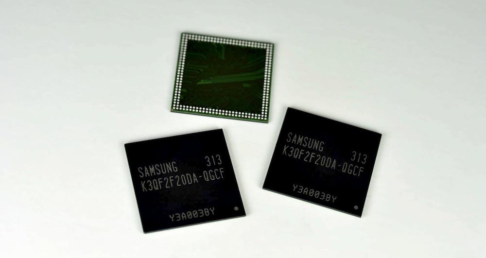 Samsung 20nm 4Gb DDR3 RAM resized
