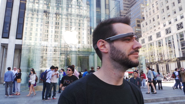 Google Glass Apple Store