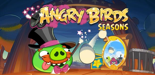Angry Birds Seasons Abacadabra update