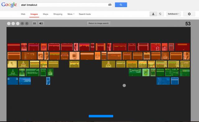 Atari Breakout Google Images