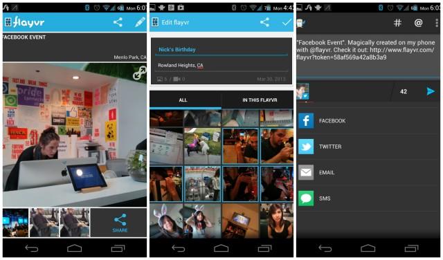 Flavyr screenshots