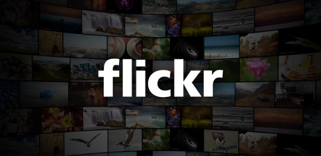 Flickr for Android banner