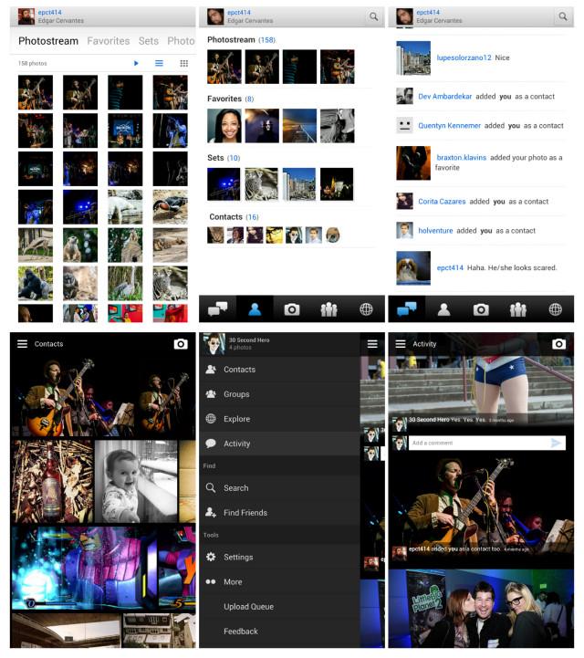 Flickr old vs new