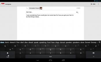 Go Keyboard Tablet