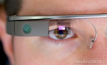 Google Glass Camera closeup