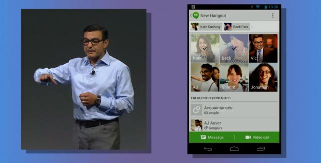 Google Hangouts new hangout