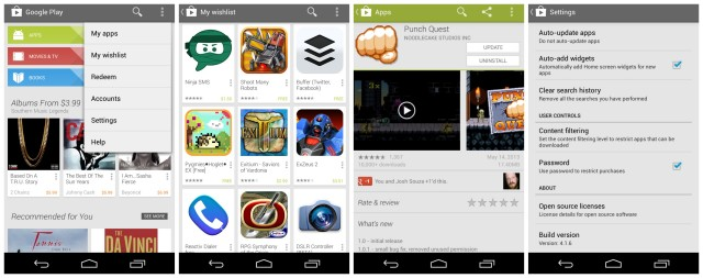 Google Play Store 4.1.6 new