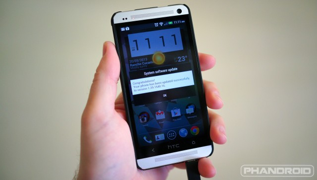 HTC One Developer Edition 1.29.1540.16 update