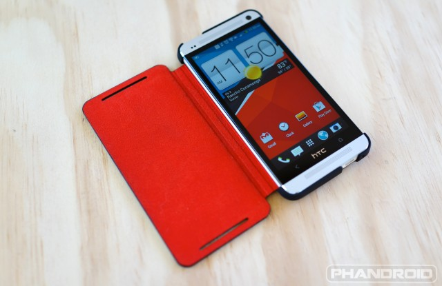 HTC One Double Dip Flip case DSC09947