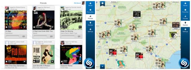 Shazam update for iOS