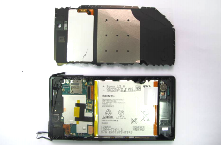 Sony Xperia Z FCC teardown