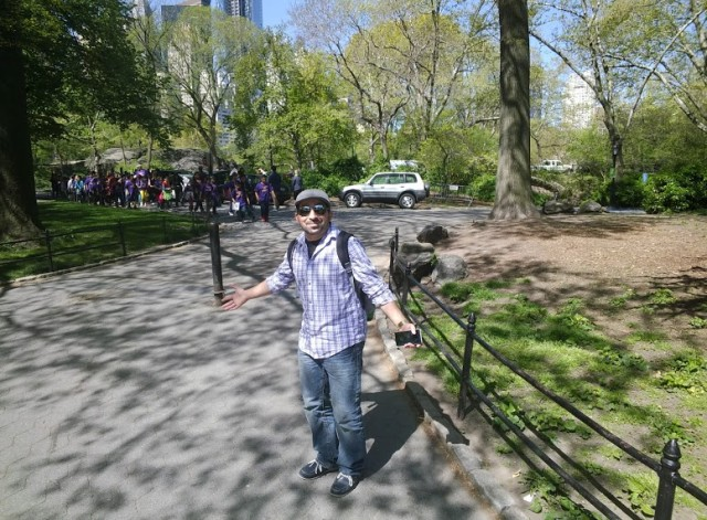 Google Glass Central Park