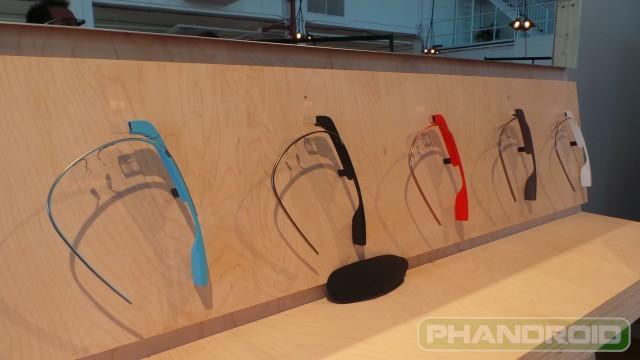 Google Glass Colors