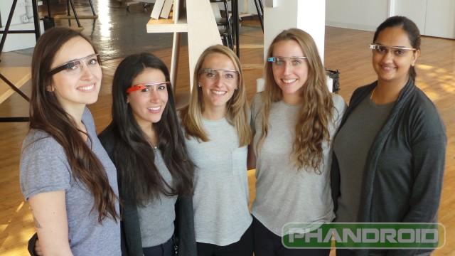 Google Glass Girls